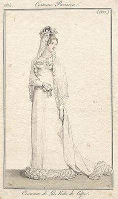 1814 wedding dress