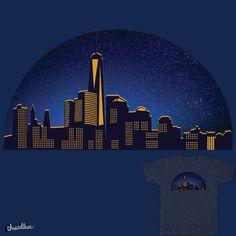 N.Y Skyline on Threadless