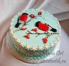 Картинки по запросу как украсить новогодний торт