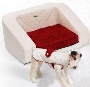 Sillón de lujo para perros $145 €  81x58x35 cm  www.adiosamigo.es/tienda