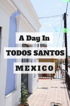 A day trip from Cabo San Lucas to Todos Santos, Mexico's colorful secret surf town.