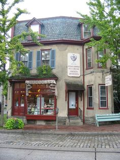 Bredenbecks Bakery & Ice Cream Parlor - Chestnut Hill,  15 minutes from my home, I go here weekly. Taste Of Philly, Chestnut Hill Philadelphia, Historic Philadelphia, Philly Pa, American Cafe, Good Rum, Us Road Trip, She Sheds, Best Vacations