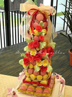 Macaron Tower Wedding.