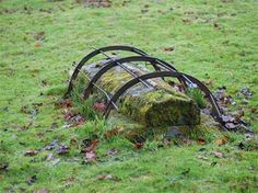 The mortsafe is a unique Scottish invention, created to deter rampant body snatching and grave-robbing that was going on in the early 18th and 19th centuries. Examples have been found close to all Scottish medical schools.