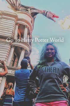 Go to Harry Potter World, bucket list, bucketlist