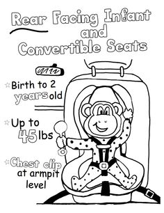 Buckle Up activity page for kids - Heroes at Home | Road ...