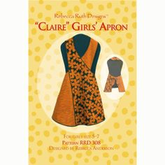 Popular items for girl apron pattern on Etsy