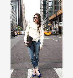 Editor's Street Style Photos - Ruthie Friedlander's Casual Friday - Elle