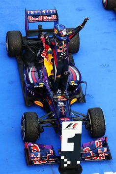 Round 2, Petronas Malaysian Grand Prix 2013, Sebastian Vettel, Infiniti Red Bull Racing, Wins The Malaysian Grand Prix
