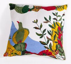 Adalbert Linen Throw Pillow
