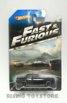 Hotwheels '08 Dodge Challenger SRT8 (Fast&Furious)