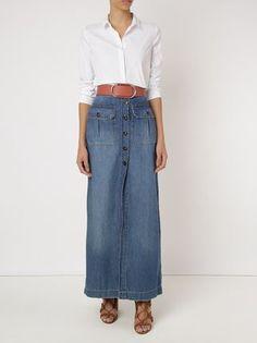 Canal Saia longa jeans