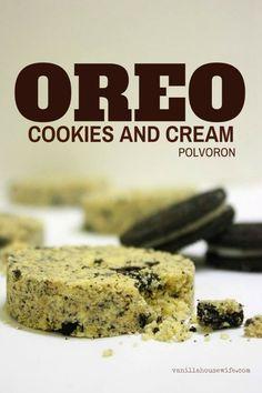 Oreo Cookies and Cream Polvoron Recipe #ThirdWorldKitchen #Dessert #Candy