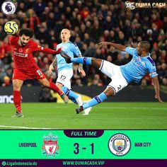 Hasil Pertandingan Liverpool VS Man City 10 November 2019 November 2019, Liverpool, Soccer, Baseball Cards, City, Futbol, Soccer Ball, Cities, Football