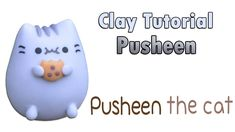 How to: PUSHEEN Cookie ✔ Clay Tutorial ★ Porcelana fria / Cold porcelain ★