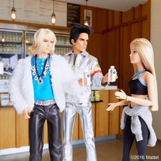 """""""Guys, guys, I know I need to hydrate! @pressedjuicery is a whole new experience with Hansel and @Zoolander!  #barbiezoolander #zoolander2 #barbie…"""""""