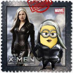 X Men, Days of Future Past Minion, Rogue