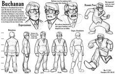 Buchanan Character Sheet by TitanicGal1912.deviantart.com on @deviantART