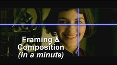 A great short clip about Composition and Framing. Mainly deals with video but still applies to photography.