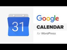 Google Calendar Plug In for Wordpress