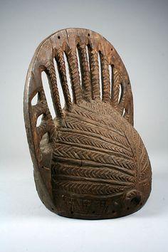 Headdress (Egungun) 19th–20th century Nigeria, Ogbomosho region Yoruba peoples