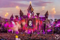 Tomorrowland, the world's biggest EDM festival originated in Belgium, is in talks with a local entertainment promoter to expand the festival to Tomorrow Land, Weekender, Ultra Music, Concert Crowd, Festival Photography, Live Set, Magazine Images, Festivals Around The World, Halloween Carnival