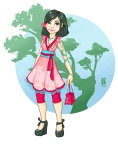 Modern Mulan by ~Hanasu on deviantART