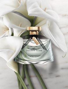 Jasmin Noir by Bulgari Cosmetic Design, Cosmetics & Perfume, Dolce E Gabbana, Beautiful Perfume, Perfume Collection, Beauty Shots, Smell Good, Packaging, La Bamba