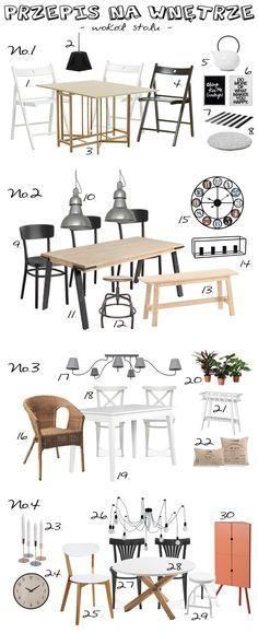 Przepis na wnętrze - wokół stołu