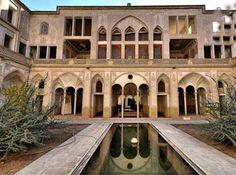 کاشان  - خانه عباسیان، خانه محجبه نقاب دار