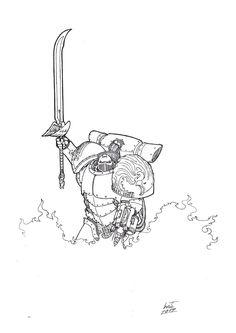 Baeleon of the Phoenix Guard by Greyall.deviantart.com on @deviantART