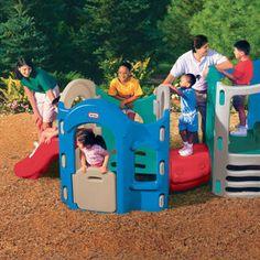 Little tikes 8 in 1 adjustable playground $550. sweet!!