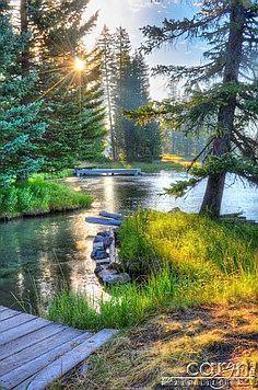 Island Park, Idaho, beyond beautiful!  #islandpark #idaho #visitidaho
