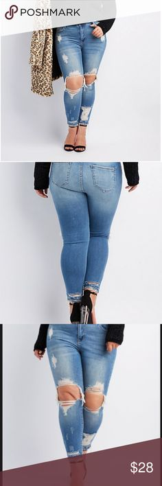 59231a1677fc4c plus size Ripped jeans NWT SIZE 18 brand new with tags ms cello Plus size  Jeans
