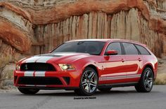 GT500 Wagon... I'd drive the shit out of this!!!