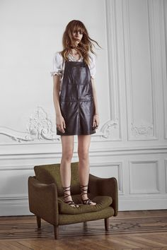 Our RIDNEY DELUXE overalls - Get the perfect outfit for #Mothersday at zadig-et-voltaire.com