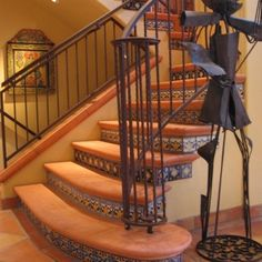 Floor Tiles On Pinterest Stair Risers Tile Stairs And Tile