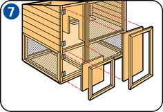 Build a hutch or outdoor park for your rabbit - Rabbit Run, House Rabbit, Mini Lop, Guinea Pig Care, Guinea Pigs, Rabbit Cages, Rabbit Hutches, Buisness, Step By Step Instructions