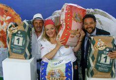 Gennaro 'o masto d''a pizza con Teresa Iorio, Francesco Miccù e la mitica farina Caputo