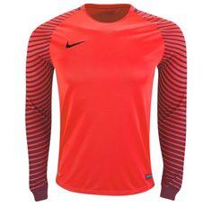 3518f67d0 Nike Long Sleeve Gardien Goalkeeper Jersey-red-s