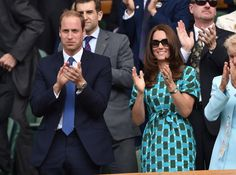 Pin for Later: Kate Middleton and Prince William Take Wimbledon Very Seriously