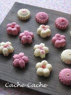 桜風味のホワイト&ストロベリーチョコレート|レシピブログ
