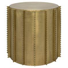 Dita Side Table, Antique Brass | Memoky.com