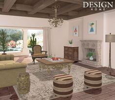 Design Home App, House Design, Patio, Outdoor Decor, Table, Daisy, Furniture, Home Decor, Decoration Home