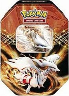 Pokemon Black White Card Game Spring 2012 EX Collectors Tin Reshiram for only $18.95 You save: $59.04 (76%) + Free Shipping