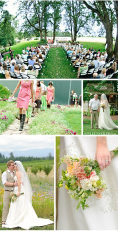Postlewait's Country Weddings - Oregon