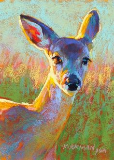 "Daily Paintworks - ""Darby"" - Original Fine Art for Sale - © Rita Kirkman"