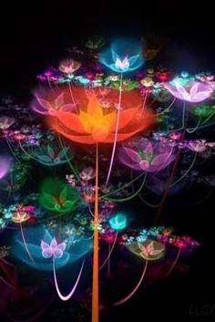 fondo flores animadas para android