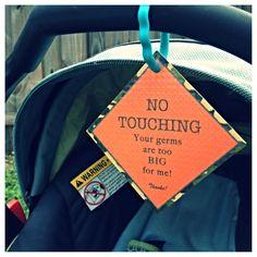 Preemie Newborn Infant Car Seat Tag