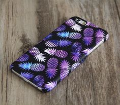 Purple Pineapple Fruit iPhone 6 CaseiPhone 6 Plus by Nanosart